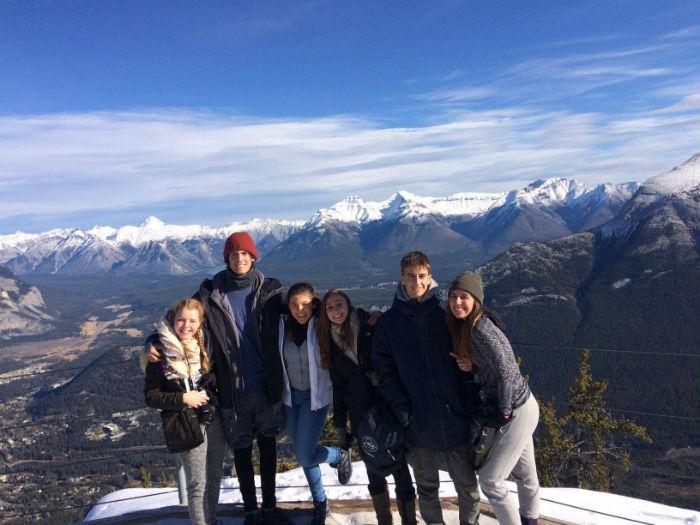Curso escolar (Burnaby) - viajar